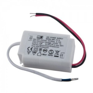 Zasilacz do LED 12W 12V 1A IP20