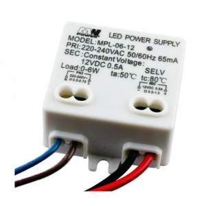 Zasilacz do LED 6W 12V 0,5A IP20