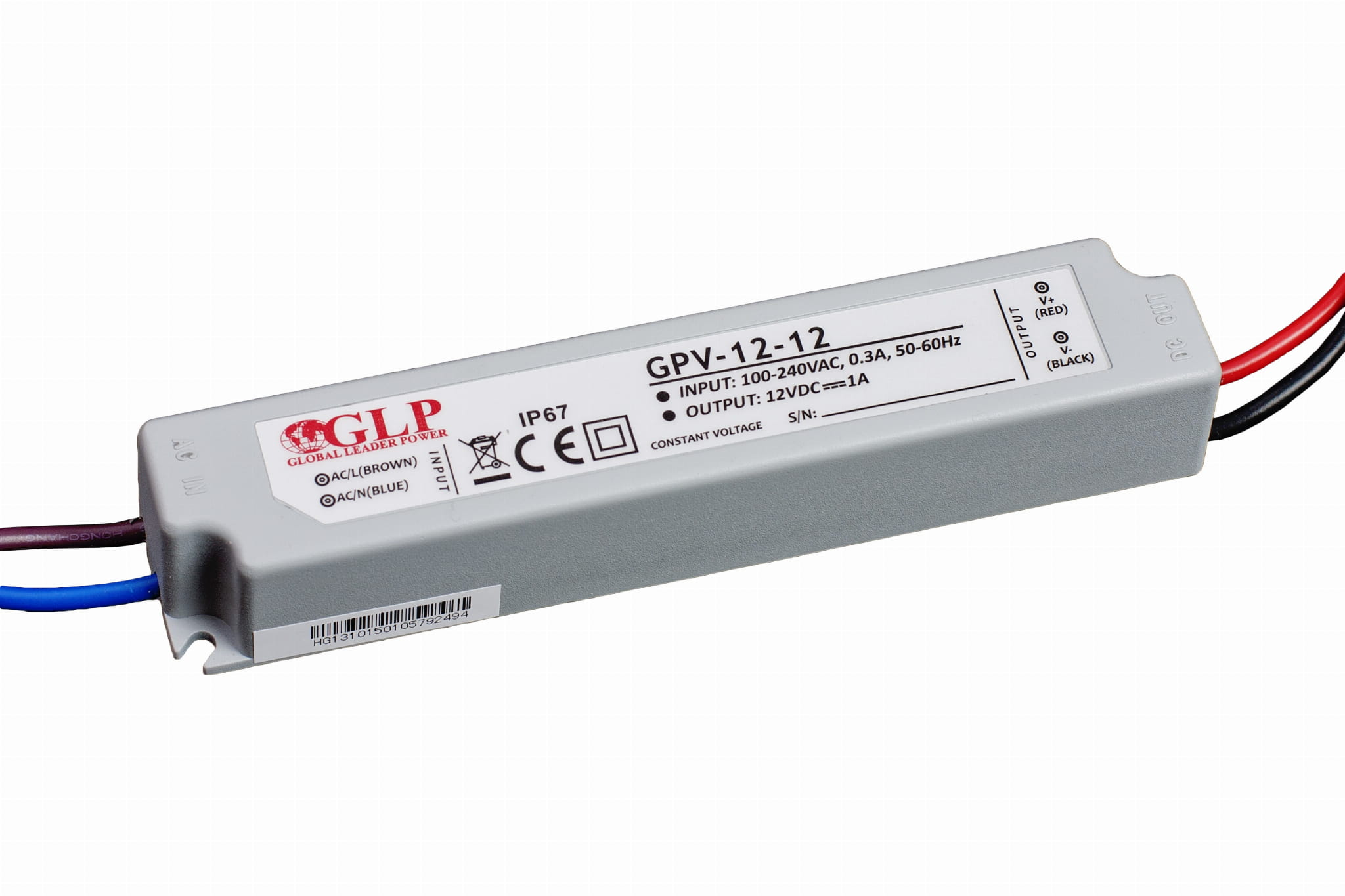 Zasilacz Impulsowy Do Led Gpv 12w 12v 1a Ip67